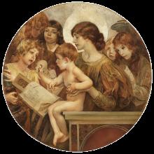Giulio Aristide Sartorio, Madonna degli Angeli (Manificat)