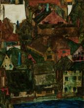 Egon Schiele, Città morta (Český Krumlov) | Dead city (Český Krumlov)