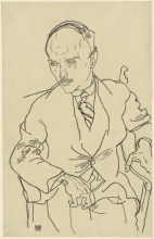 Egon Schiele, Ritratto di Guido Arnot | Bildnis Guido Arnot