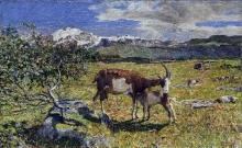 Giovanni Segantini, Alpe di maggio