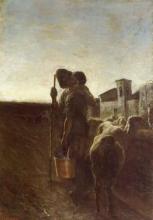 Giovanni Segantini, Amore in montagna | Liebe auf den Bergen | Love on the mountain