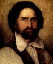 Giovanni Segantini, Autoritratto | Selbstporträt | Self portrait [1878-1879]