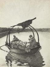 Giovanni Segantini, Ave Maria a trasbordo [1882-1883]