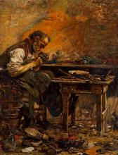Giovanni Segantini, Il ciabattino | Der Schuster | The cobbler