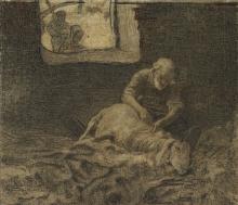 Giovanni Segantini, Il reddito del pastore | Le revenue du pasteur [1885 circa]