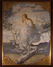 Giovanni Segantini, L'angelo della vita   The angel of life [1894]