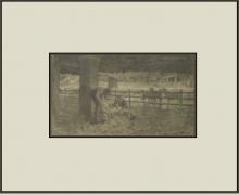 Giovanni Segantini, La tosatura delle pecore [1886-1888]