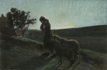 Giovanni Segantini, Le due madri [1884-1886]
