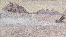 Giovanni Segantini, Paesaggio alpino | Berglandschaft