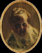 Giovanni Segantini, Ritratto di Gottardo malato