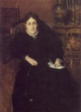 Giovanni  Segantini, Ritratto di signora [1883-1884]