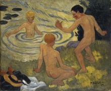 Serusier, Ragazzi sulla riva di un fiume.jpg