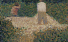 Seurat, Due spaccapietre.png