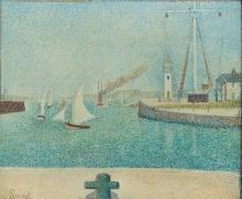 Seurat, Entrata del porto di Honfleur.jpg