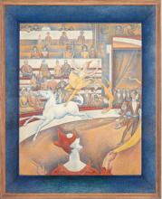 Seurat, Il circo [cornice].png