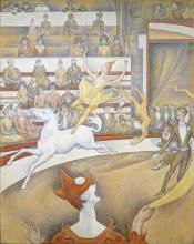 Seurat, Il circo.png