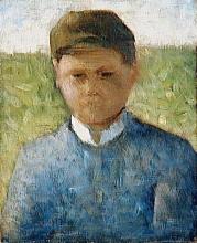 Seurat, Il piccolo contadino in azzurro.jpg
