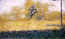 Seurat, Radura di bosco in primavera.jpg