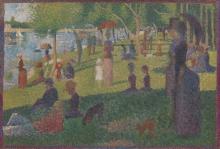 Seurat, Studio per Una domenica pomeriggio all'isola della Grande Jatte [2].jpg