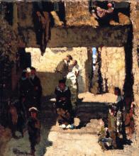 Signorini, Il quartiere degli Israeliti a Venezia [1860 circa].png