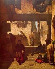 Signorini, Il quartiere degli israeliti a Venezia [1861].jpg