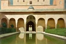 Simi, Alhambra, la piscina.jpg