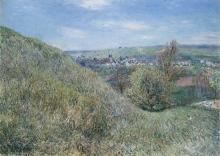 Sisley, Sulle colline di Moret una mattina di primavera.jpg