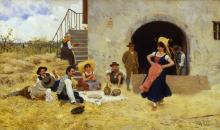 Raffaello Sorbi, La danza sull'aia