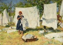 Raffaello Sorbi, Lavandaie | Washerwomen