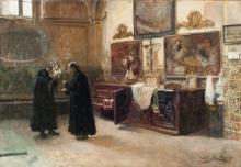 Joaquín Sorolla, In sacrestia | En la sacristia | In the sacristy