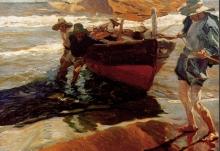 Joaquín Sorolla, Ritorno dalla pesca