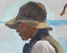 Joaquín Sorolla, Studio per Il ritorno dalla pesca [dettaglio] | Estudio por La vuelta de la pesca [detalle] | Study for La vuelta de la pesca [detail]