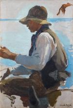 Joaquín Sorolla, Studio per Il ritorno dalla pesca | Estudio por La vuelta de la pesca | Study for La vuelta de la pesca