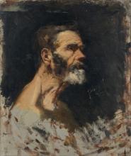 Joaquín Sorolla, Testa di anziano | Cabeza de anciano | Old man's head