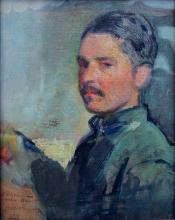 Armando Spadini, Autoritratto da soldato
