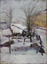 Armando Spadini, Paesaggio invernale