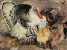 Armando Spadini, Tacchini e galline | Turkeys and hens