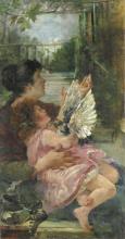 Tedesco, Madre e figlia.png