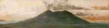 Tedesco, Veduta del Vesuvio da San Giuseppe Vesuviano [dettaglio].jpg