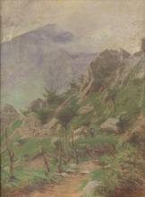 Achille Tominetti, Alta montagna