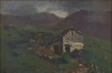 Achille Tominetti, Baita in montagna