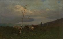 Achille Tominetti, Lago lontano