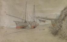 Tommasi Adolfo, Barche in secca.jpg