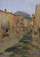 Tommasi Adolfo, Borgo ligure (Riomaggiore).jpg
