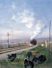 Tommasi Adolfo, Il fischio del treno.jpg