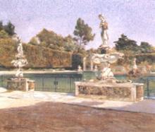 Tommasi Adolfo, La vasca dell'Isolotto (Boboli).jpg