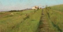 Tommasi Adolfo, Paesaggio con casolare