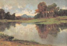 Tommasi Adolfo, Paesaggio con lago.jpg