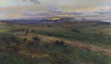 Tommasi Adolfo, Paesaggio con pastori e caseggiati.jpg