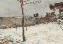 Tommasi Adolfo, Paesaggio invernale.jpg